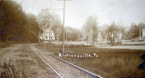 Kintnersville Trolley Tracks
